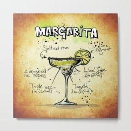 Margarita Metal Print