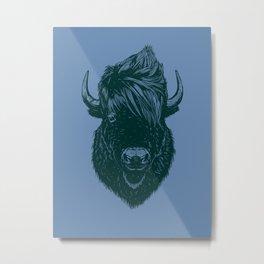 Mohawk buffalo Metal Print