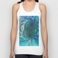 fractal Tank Tops featuring Fractal by nicky2342