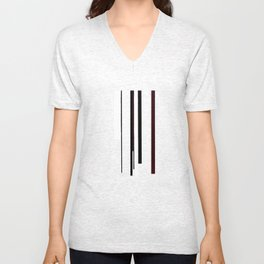 Abstract #5 Unisex V-Neck