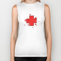 medical Biker Tanks featuring Medical Magic by Squidbiscuit