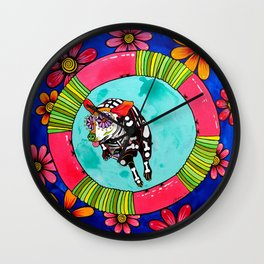 Agility Dog Ridgeback Wall Clock