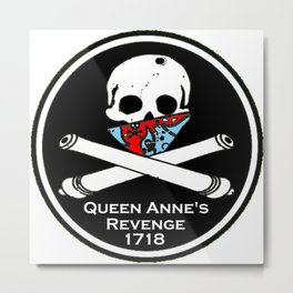 Queen Anne's revenge. Metal Print