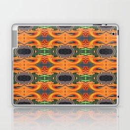 Summer Orange Abstract Laptop & iPad Skin