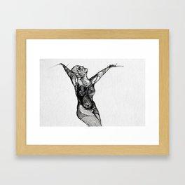 Widowed (IV) Framed Art Print