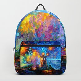 The 10th Doctor Starry The Night Backpack