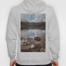 Mountain Lake - Landscape and Nature Photography Hoody