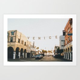 venice / los angeles, california Art Print