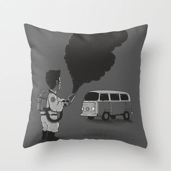 Smokebuster Throw Pillow