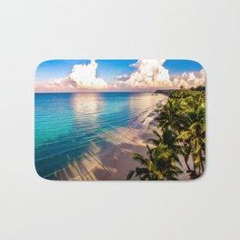 Tropical Sunrise Bath Mat
