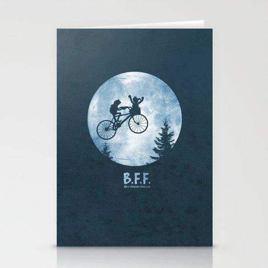 B.F.F. Stationery Cards