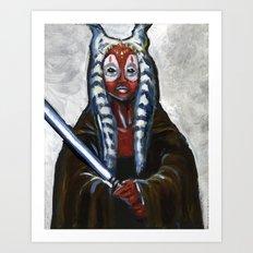 Shaak Ti, Jedi Master Art Print