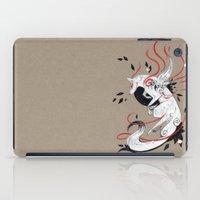 okami iPad Cases featuring OKAMI RIBBONS by Rubis Firenos