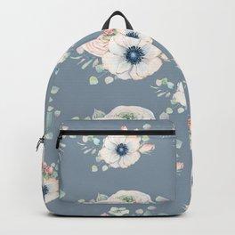 Dog Rose Pattern 3 Backpack