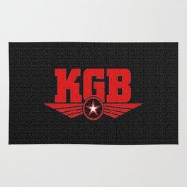 Soviet KGB Logo Rug