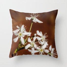 Cherry bloom Throw Pillow