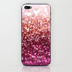 sunset glitter iPhone & iPod Skin