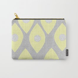 Eye Pattern Yellow Carry-All Pouch