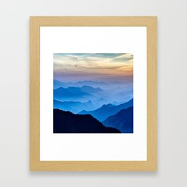 Mountains 11 Framed Art Print