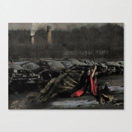 Urban Dragon Slayer Canvas Print