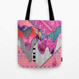 drippy pink Tote Bag