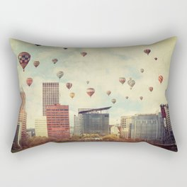 Portland Oregon Whimsy Rectangular Pillow