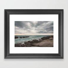 Autumn atmosphere Framed Art Print