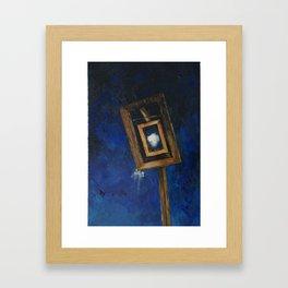 The Listener 7 Framed Art Print