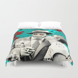 alienated love Duvet Cover