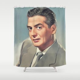 Victor Mature, Movie Legend Shower Curtain
