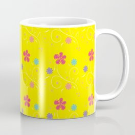 Flowers in buttercup Coffee Mug