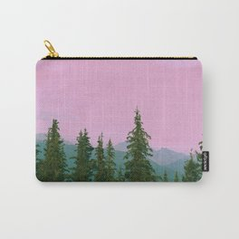 cotton candy mountains Carry-All Pouch