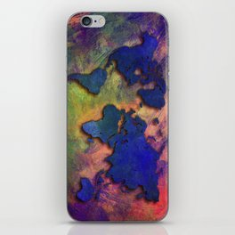 World map special 5 iPhone Skin