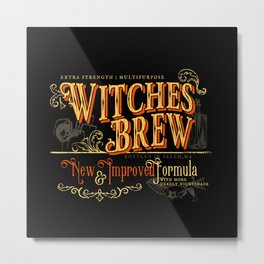 Witches Brew Metal Print