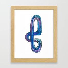 Curve  Framed Art Print