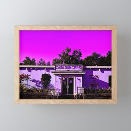 Hot Pink Exotic Dancers Framed Mini Art Print
