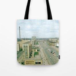 East Berlin Fernsehturm '69 Tote Bag