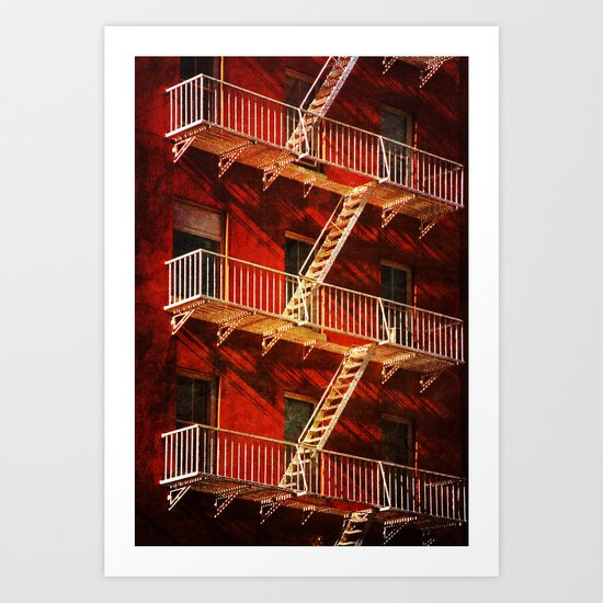 York Avenue 10021  Art Print