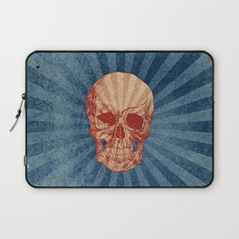 Retro Skull Laptop Sleeve