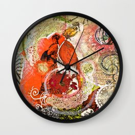 Culture Shock Wall Clock