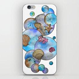 Bubbly Beach iPhone Skin