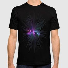 Fireworks Fractal T-shirt