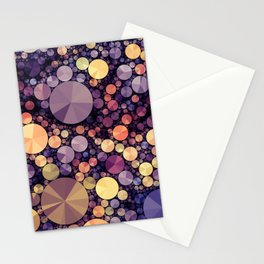 Purple Berries Stationery Cards