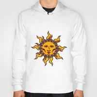 sublime Hoodies featuring Sublime Sun #2 Psychedelic Character Design Logo by CAP Artwork & Design