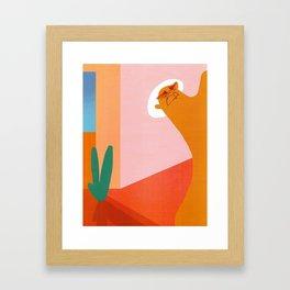 Send Nudes? Framed Art Print