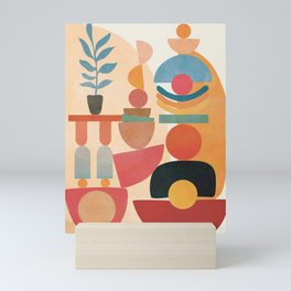 Modern Abstract Art 73 Mini Art Print
