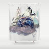 howl Shower Curtains featuring Howl by kdboiart