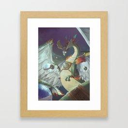 The Dreamteller of Travel Framed Art Print