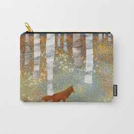 Autumn Fox Carry-All Pouch