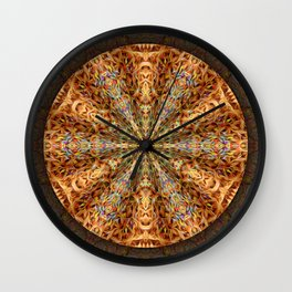 Color Me Frilly Wall Clock
